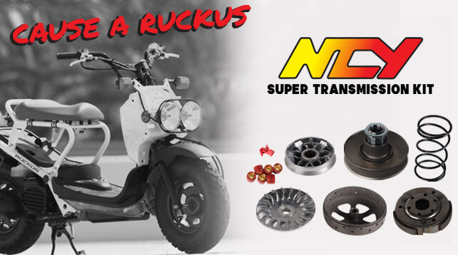 HONDA RUCKUS / ACCESSORIES / SUSPENSION